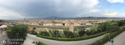 gyönyörű panoráma Firenzére