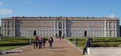Caserta hatalmas kastélya