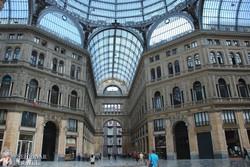 Nápoly: az I. Umberto Galéria – XIX. századi üzletközpont