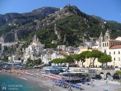 Amalfi romantikus partja