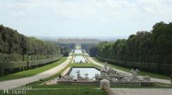 Caserta kastélyának parkja