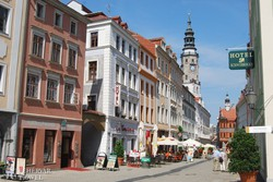 Görlitz főutcája