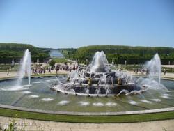 a Latone szökőkút a Versailles-i kastély parkjában