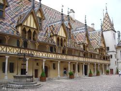 a Hotel Dieu – középkori kórház Beaune-ban