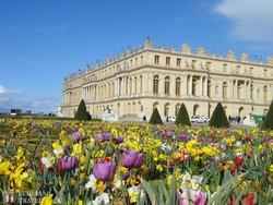 a Versailles-i kastély – részlet