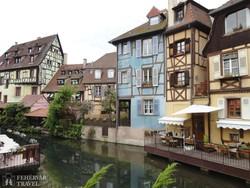 Colmar elbűvölő favázas házai