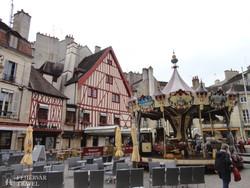 középkori hangulat Dijonban