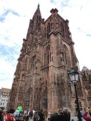 Strasbourg égbenyúló katedrálisa
