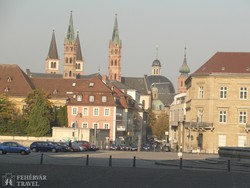 pillantás Würzburg óvárosára