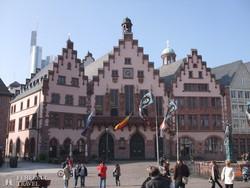 Frankfurt – a városháza a Römeren