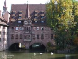 Nürnberg – a Szentlélek kórház épülete
