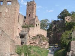 Wertheim középkori vára – részlet