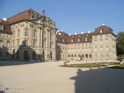 Pommersfelden barokk kastélya – részlet