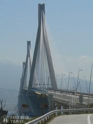 Európa egyik legnagyobb hídja Patrasz mellett