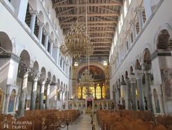 Thesszaloniki – a Szt. Demeter bazilika belső részlete