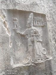 Yazilikaya – a hettita sziklaszentély egyik domborműve
