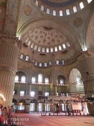 Isztambul – a Kék Mecset izniki csempéi