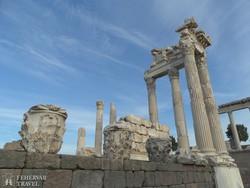 az Akropolisz Pergamonban