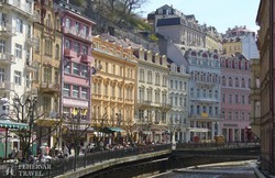 az Osztrák-Magyar Monarchia időszakára emlékeztető Karlovy Vary