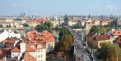 Európa egyik legrégebbi hídja, a prágai Károly híd