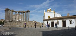 a Diana templom Évorában