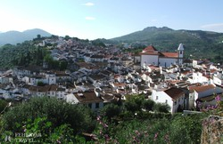 Castelo de Vide madártávlatból