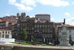Porto történelmi központja – részlet
