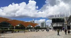 Lisszabon: az 1998-as világkiállítási terület az Óceanáriummal