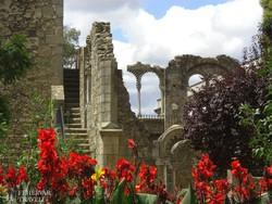 Évora – az egykori mór palota romjai