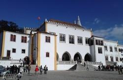 Sintra: a királyi palota – részlet