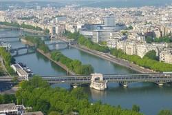 Párizs egy szelete az Eiffel-toronyból
