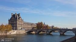 a Szajna-part Párizsban – részlet