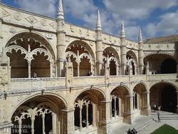 Lisszabon: a Jeromosok kolostorának kerengője – részlet