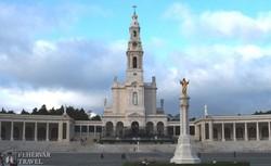 Fatima, a zarándokok városának bazilikája