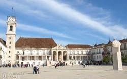 Coimbra – az egyetem egyik épülete