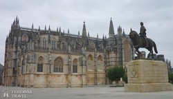 a gótikus Batalhai kolostor