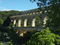 Pont du Gard, az ókori technika csodája