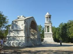 diadalív és mauzóleum St-Rémynél