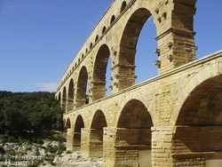 Pont du Gard, a római kori vízvezeték