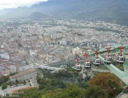 Grenoble, a francia Alpok fővárosa