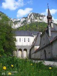 a Grande Chartreuse kolostor – részlet
