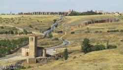 kasztíliai táj Segovia környékén