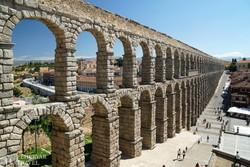 római kori vízvezeték Segoviában