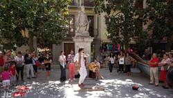 utcai életkép Granadából