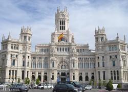 Madrid: a Főposta épülete