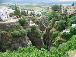 a különleges fekvésű Ronda városa