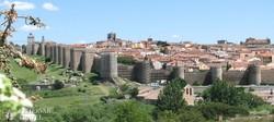 a középkori hangulatú Ávila és városfala
