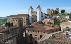 Cáceres: a San Francesco Javier templom