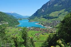 útban a Jungfrau felé – a Lungerni-tó