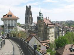 Fribourg, Svájc műemlékekben egyik leggazdagabb városa